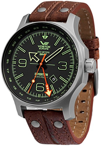 Vostok Europe Expedition North Pole Herr uhren 515.24H-595A501