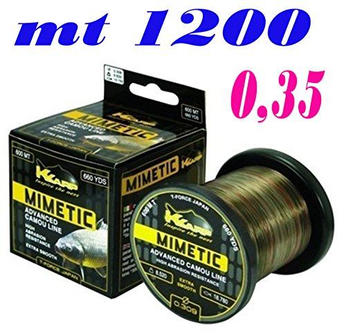 K Karp Filo Mimetic 1200 m 0,354 mm