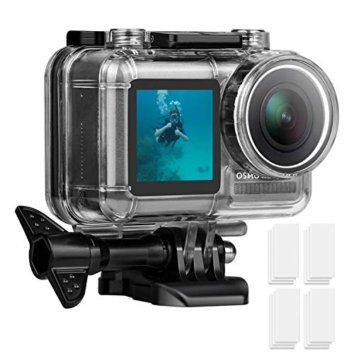 FASTSNAIL Custodia Impermeabile per DJI Osmo Action Cam Camera Digitale - Custodia Subacquea Impermeabile Fino a 40m - Underwater Photography Waterproof Case