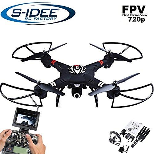Idea S 01660Quadrocopter S303FPV 5.8GHz trasferimento HD fotocamera altezza stabilizzazione,...