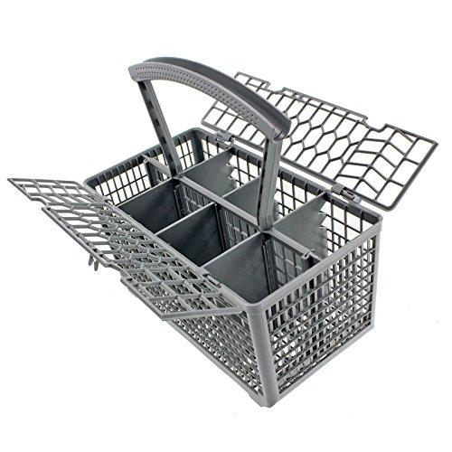 Spares2go-Cesto originale per posate, per lavastoviglie, Whirlpool & coperchio, maniglia rimovibile,...