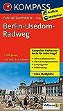 Fahrrad-Tourenkarte Berlin-Usedom-Radweg: Fahrrad-Tourenkarte. GPS-genau. 1:50000. (KOMPASS-Fahrrad-Tourenkarten, Band 7046)