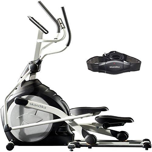 SKANDIKA CardioCross Carbon Pro Vélo elliptique 158 x 60 x 117 cm