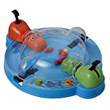 Hasbro Gaming Elefun & Friends Hungry Hungry Hippos Grab & Go Game