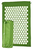 Ultrasport Akupressur und Relax Matte, grün, 78x46x2