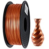 PLA Filament 1.75mm Silk Copper, GIANTARM Imprimante 3D Filament PLA 1kg Spool