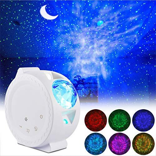 Lampada Proiettore Led Luce Notturna, ALED LIGHT Stelle LED Proiettore Lampada Luci Notturne Oceano...