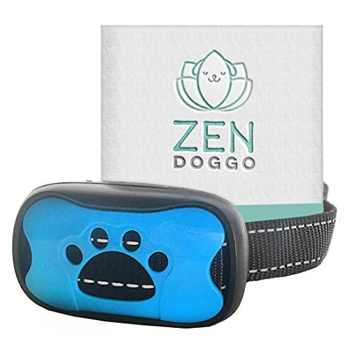 ZenDoggo Anti Bark Collar No Shock, Safe for Small to Large Dogs and Puppies