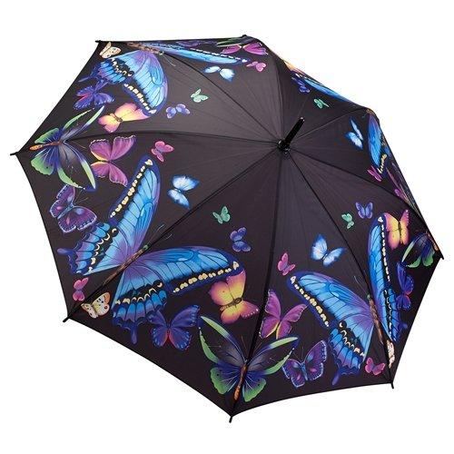 Galleria Moonlight Mariposas Stick paraguas