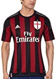 adidas Milan AC Domicile Replica Maillot Manches Courtes Homme Black/Victory Red/Granite FR : S (Taille Fabricant : S)