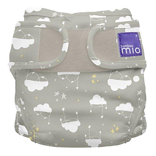 Bambino Mio, miosoft mutandina contenitiva copripannolino, tra le nuvole, taglia 1 (