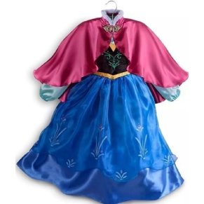 Disney Store Frozen Princess Anna Dress Costume Size Medium 7/8 by Disney