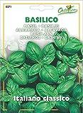Hortus 15BAS0271 Maxi Busta Ortovivo Basilico Genovese, 12x0.2x16.5 cm