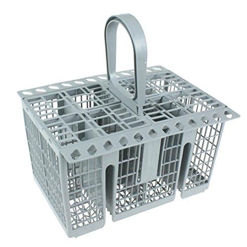Spares2go posate gabbia cestino per lavastoviglie Hotpoint (grigio)