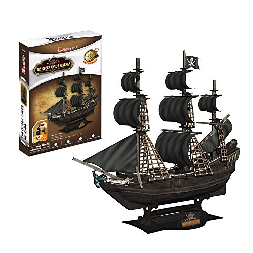 Cubic Fun- Puzzle 3D modellino souvenirnavenavi, T4005h