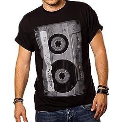 Camiseta Musica Hombre - Casete - M