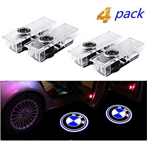 Bodhi Luce per porta auto Logo Light,4 pezzi di luci per porte auto LED 3D Car Light Entry...