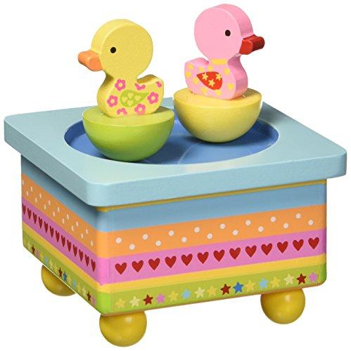 MusicBox Kingdom Dancing Rubber Ducks Decorative Box
