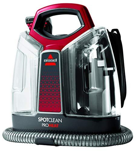 Bissell Spotclean PRO Heat Pulitore di Macchie Portatile, 330 W, 2.5 Litri, 74 Decibel,...