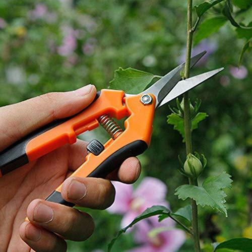 Zantec Herramienta de Corte para jardinería, Herramienta Manual Jardinería, Tijeras práctico de Acero Inoxidable