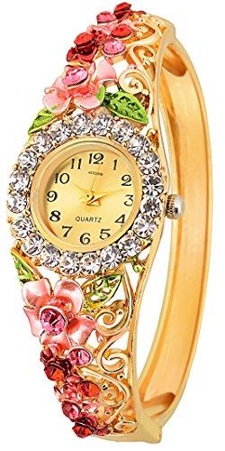 Kitcone Jwellery Diamond Studded Bracelet Women's Watch Type Analog - Db3