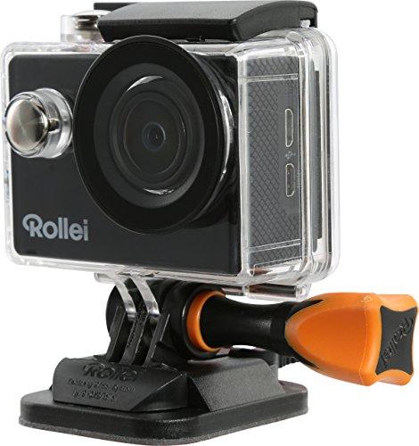 Rollei Actioncam 415 - Cámara deportiva (WiFi, 30 fps, 1080p, 900 mAh, incluye carcasa subacuática), color negro
