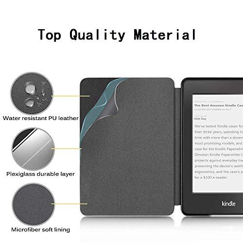 ProElite Deer Smart Flip case Cover for All Amazon Kindle Paperwhite 10th Generation (Deer Coffee) 17