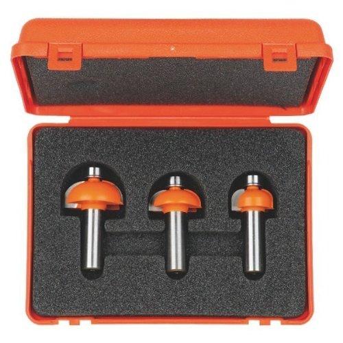 CMT Orange Tools 837,001.11-Cofanetto con 3 frese hm 6,35 radio convesso s