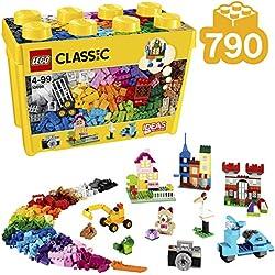 LEGO Classic - Scatola Mattoncini Creativi, Grande, 790 Pezzi, 10698