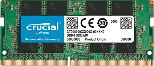 Crucial CT8G4SFD8213 8GB Speicher (DDR4, 2133 MT/s, PC4-17000, DRx8, SODIMM, 260-Pin)