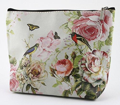 Clayre y fed FAP0092-10 bolsa neceser estuche cartera monedero aprox 23 x 16 cm diseño de mariposa
