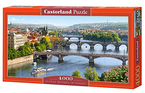 Jigsaw Puzzle - Vltava Bridges in Prague - Castorland - 4000 Pezzi