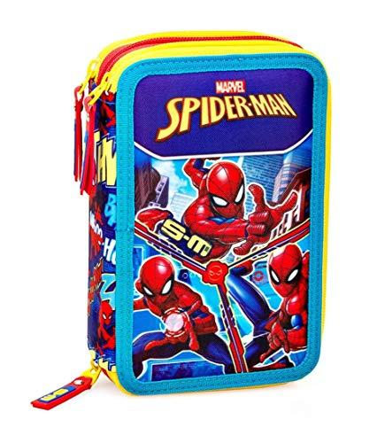 Inacio Marvel Spiderman XL Astuccio a Scompartimenti, Astuccio a Scomparti, Astuccio, Astuccio...
