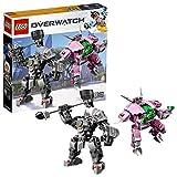 LEGO - Overwatch - D.va et Reinhardt - Jeu de construction - 75973