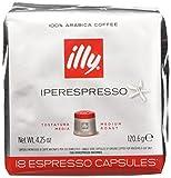 illy Caffè 7952, 108 Cialde Capsule Caffe' Illy Iperespresso TOSTATO...