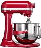 KitchenAid 5KSM7580XEER Küchenmaschine 1.3 HP, 6,9 l Empire, Rot