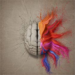 Posterlounge Cuadro Sobre Lienzo 120 x 120 cm: The Creative Mind de Johan Swanepoel