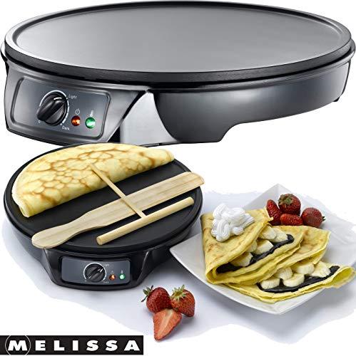 Melissa 16310146 Piastra per Crêpes Antiaderente Professionale
