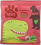 Bear Fruit Paws Dino Strawberry & Apple 18 x 20g