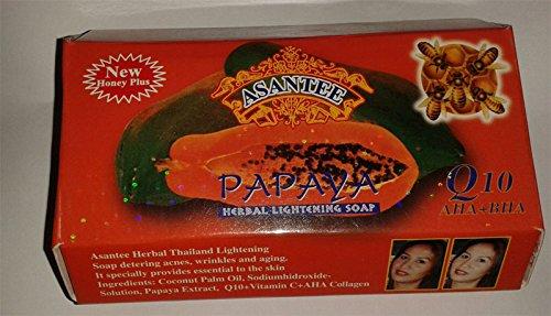 Gluta Asantee Papaya Soap Honey Plus, 125 g