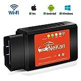 OBD2 WiFi Wireless Mini OBDII Auto Coche OBD2 Escáner Herramienta de...