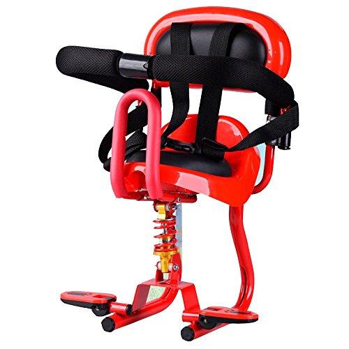 Baby-Bike-Seat-Scooters-lectriques-Vlos-Siges-enfants-Siges-avant-Siges-de-scurit-red