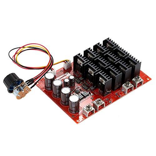 Specific Power Control: 12V: 720W; 24V: 1440W; 36V: 2160W; 40V: 2400W; 50V: 3000W PWM Principio di funzionamento: Modificando il duty-cycle dell'onda quadra (uscita) per regolare la potenza corrente media da 0-100% del carico, quindi modifica...