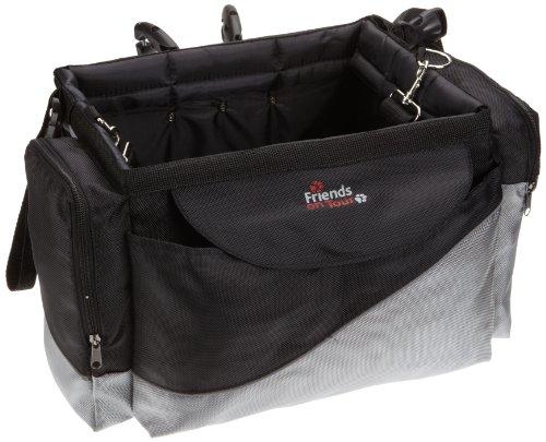 Trixie 13113 Front-Box, 41 × 26 × 26 cm, schwarz/grau
