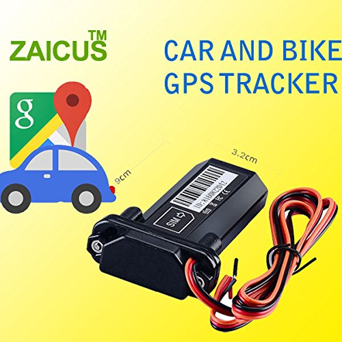 ZAICUS ST-901 Waterproof Built-in Battery GSM GPS Tracker for Car Motorcycle Vehicle Tracking Device with 1 Year Free Tracking Software APP
