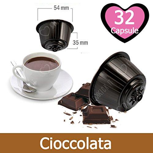 32 Capsule Cioccolato Compatibili Nescafè Dolce Gusto
