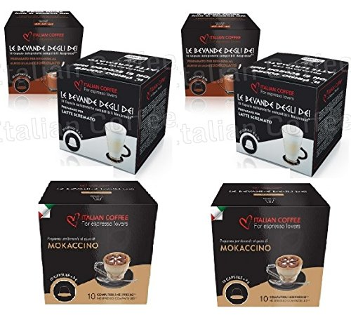 Capsulas Compatibles Nespresso® Chocolate con Leche Degustacion 60 Cápsulas