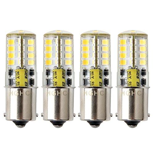 Lampadina Ba15s DC/AC 12V LED Luci, 5W Bianco Freddo 6000K SBC Lampada P21W, 35W Sostituzione per...