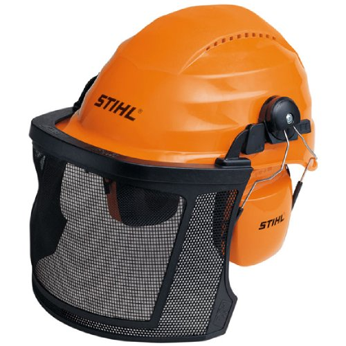 This chainsaw safety helmet doesn't have many bells and whistles per se and so we feel it's quite overpriced. If it's about the brand, of which it's good to buy from trusted manufacturer's, then you have your helmet. You will love the wider than average visor and the strong impact resistance cover with rain protection, leave alone the lightweight body.