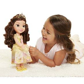 Jakks Pacific Princesa Disney La Bella y la Bestia Muñeca Toddler 35cm, Multicolor, 35 cm (Glop Games 78847-11L-6)